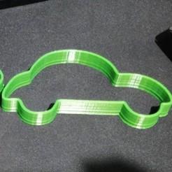 Download OBJ file cookie cutter car • 3D printer template, 3DCURICO