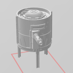 Screenshot_2020-09-22_163337.png Download free STL file Ork Stompa Kan Turret • 3D printing template, deaallen