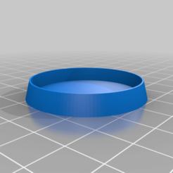 40x40_6mm_high_Hollowed.png Télécharger fichier STL gratuit Bases creuses/encastrées de 40MM • Modèle imprimable en 3D, deaallen