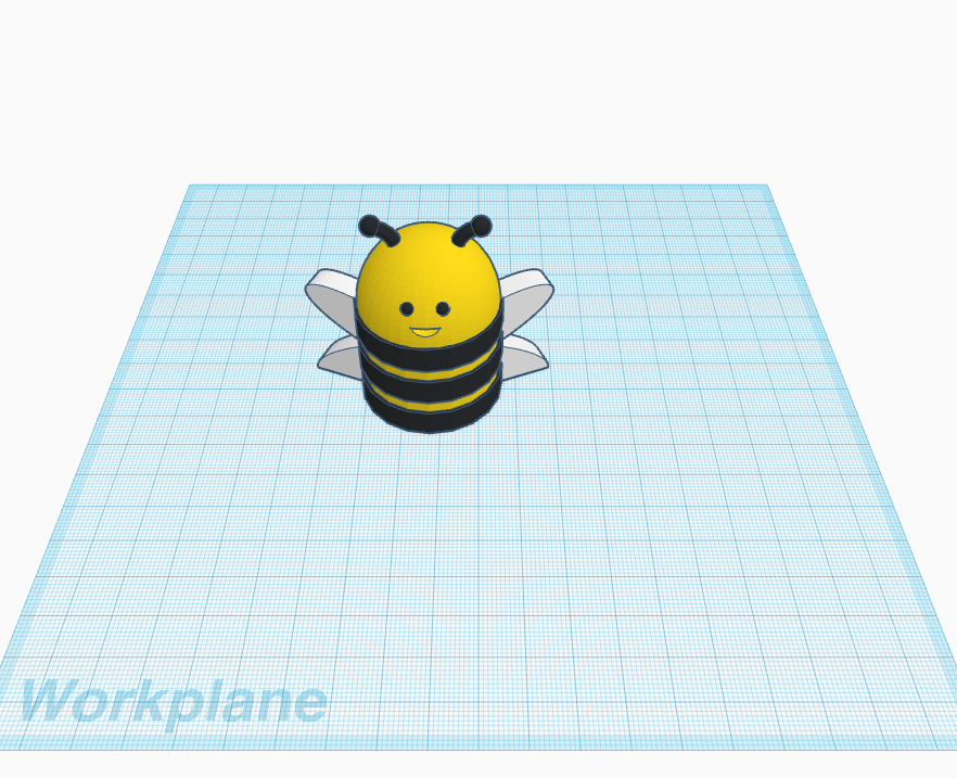 bumble_bee.png Download free STL file BUMBLE BEE • 3D print object, nathanielbarbosa0121