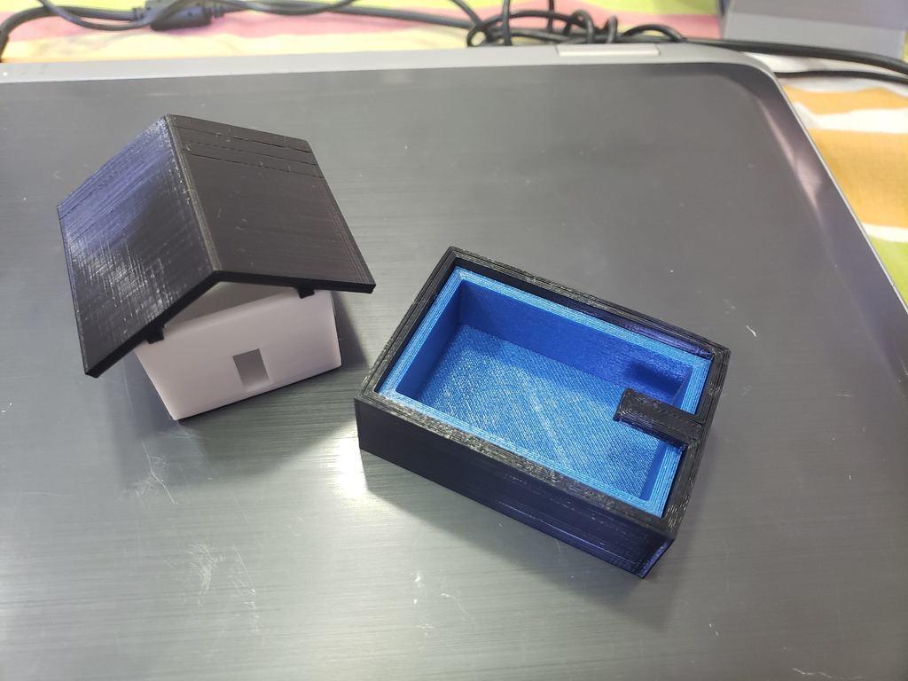 20200531_155143.jpg Télécharger fichier STL gratuit Mini maison de jouets avec piscine • Modèle pour imprimante 3D, fribeiro77