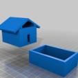 Casa_de_Brinquedo.png Télécharger fichier STL gratuit Mini maison de jouets avec piscine • Modèle pour imprimante 3D, fribeiro77