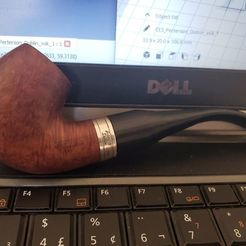 20200905_112847.jpg Download free STL file Peterson Dublin Pipe Long Stem • Design to 3D print, fribeiro77