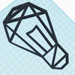 Download STL Geometric Focus Decoration, delfinaifran