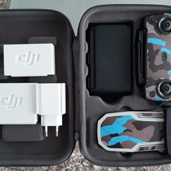 20201007_160040.jpg Télécharger fichier STL  dji mavic mini support boites rangement prise +câble + filtres • Design pour imprimante 3D, 25kroki
