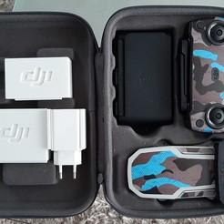 20201007_160040.jpg Download STL file dji mavic mini support boxes storage plug +cable + filters • 3D print design, 25kroki