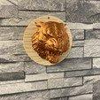 Télécharger fichier STL gratuit Tête de tigre • Objet imprimable en 3D, emmanuelolle