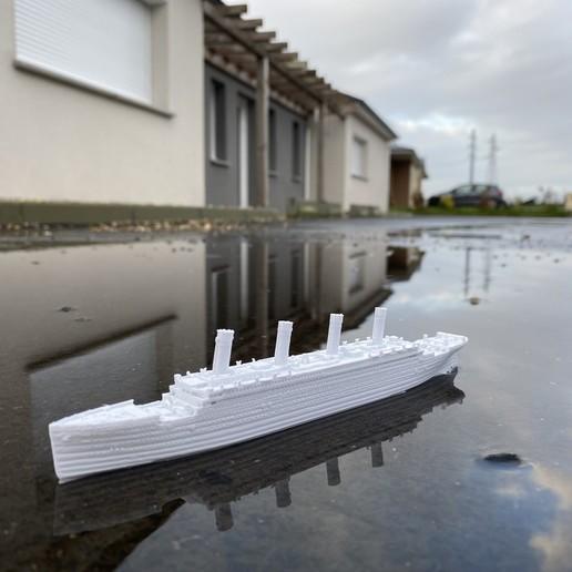 Télécharger objet 3D gratuit RMS TITANIC - échelle 1/1000, vandragon_de