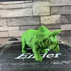 Télécharger fichier STL gratuit Triceratops, emmanuelolle