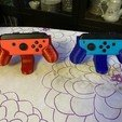 Download 3D printer designs Support for Nintendo switch controller, Fabplast3d