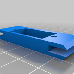 Download free STL file TBRC Mini Warlock Rear Servo Mount • 3D printer template, SeanTheITGuy