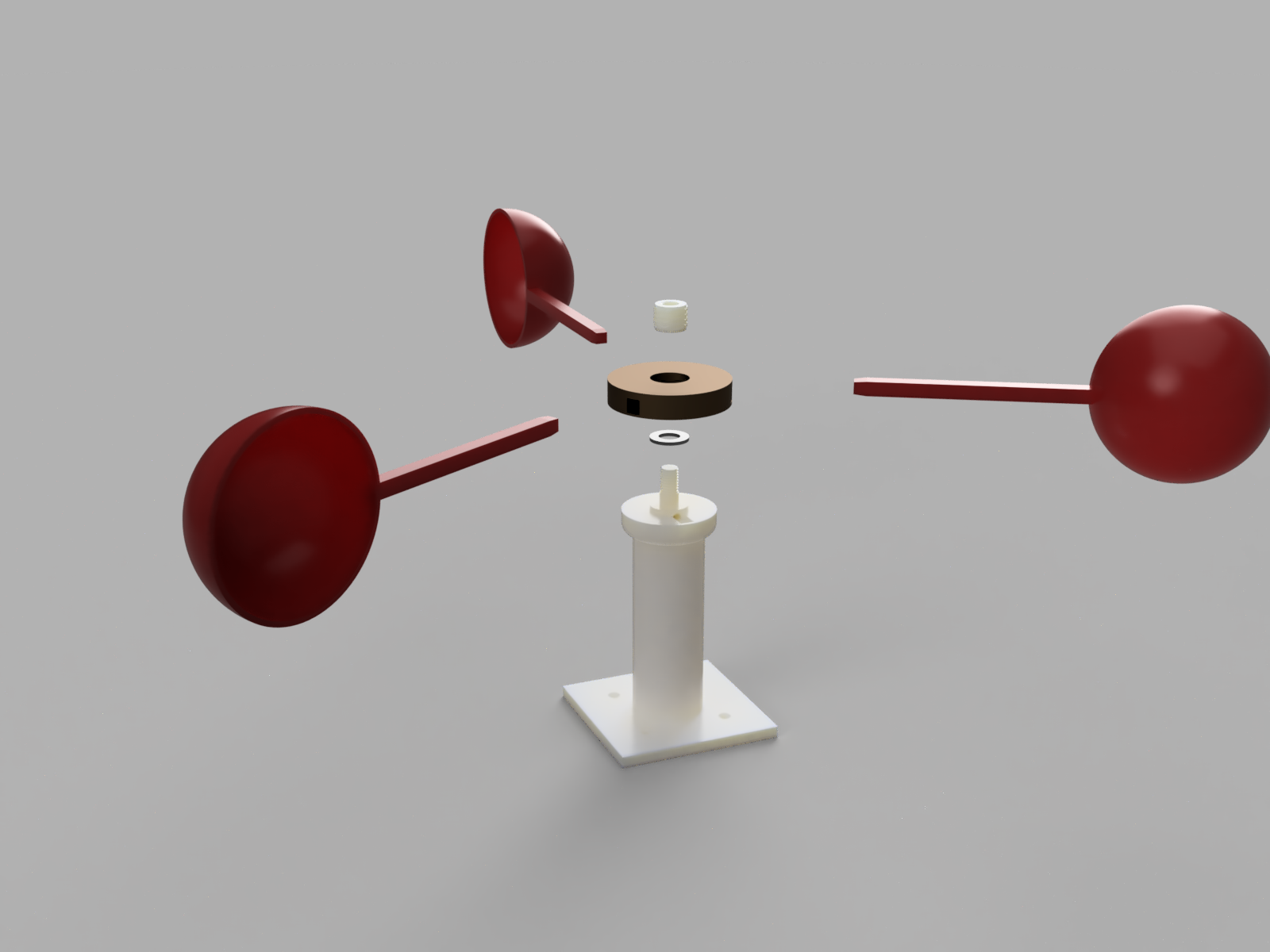 Weather_Station_Wind_Speed_2019-Mar-21_11-40-20PM-000_CustomizedView49938742620.png Download free STL file Anemometer w/ Hall Effect Sensor • Object to 3D print, SeanTheITGuy
