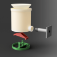 Download free STL file Rain Gauge w/ Hall Effect Sensor • 3D printing object, SeanTheITGuy