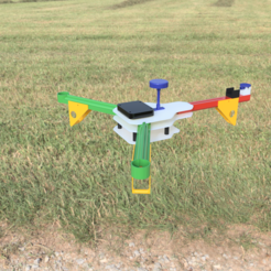 Download free STL file Experimental Multirotor • 3D printable model, SeanTheITGuy