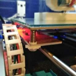 IMG_20180423_232144.jpg Download free STL file Handle nut M3 bed setting designed for AM8 • 3D printable design, Aurel_14