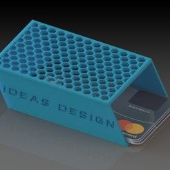 Download free 3MF file Card Holder • 3D printer object, 3DBuildingYourIdeas