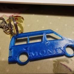 Download 3D printer designs Mazda Bongo Keyring, dave271069