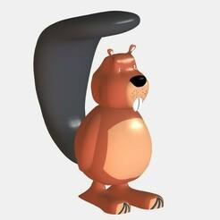 Beaver2.jpg Download STL file Castor - Beaver • 3D printer design, mayk04