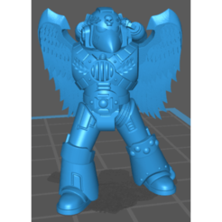 Screenshot_382.png Download free STL file Bloody Marines Firstborn Forefront Veteran Sergeant with Winged Jump Pack and Dual Plasma Pistols • 3D printing model, ebola0