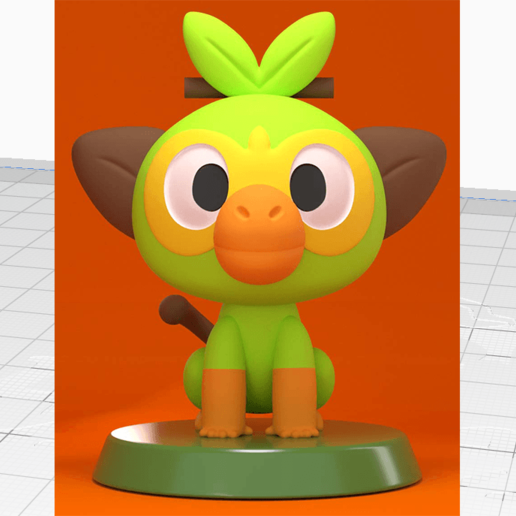 Download Stl File Grookey Pokemon Sword Shield Design To 3d Print Cults If your server is not. download stl file grookey pokemon sword