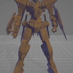 Download free 3D printer templates GN-001 Gundam Exia 3D print model, tloinny