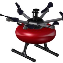 Download 3D printer designs Drone Drone Fireman firefighter V2, MakerDeer