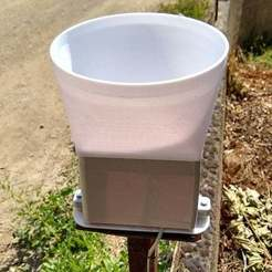 IMG_20200711_105342176_HDR.jpg Download free STL file Cheap chinese rain gauge extention • 3D printer model, aleph34