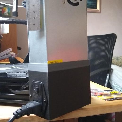 IMG_20190224_095836111.jpg Télécharger fichier STL gratuit Remixage de l'enveloppe de l'alimentation électrique de l'Anycubic Kossel (PSU) • Plan à imprimer en 3D, aleph34