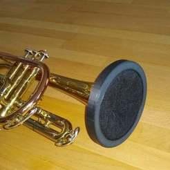 IMG_20200605_180735484.jpg Télécharger fichier STL gratuit Filtre covide pour trompette • Plan imprimable en 3D, aleph34