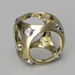 Descargar modelos 3D gratis Colgante de diamantes engarzados, OJON3S