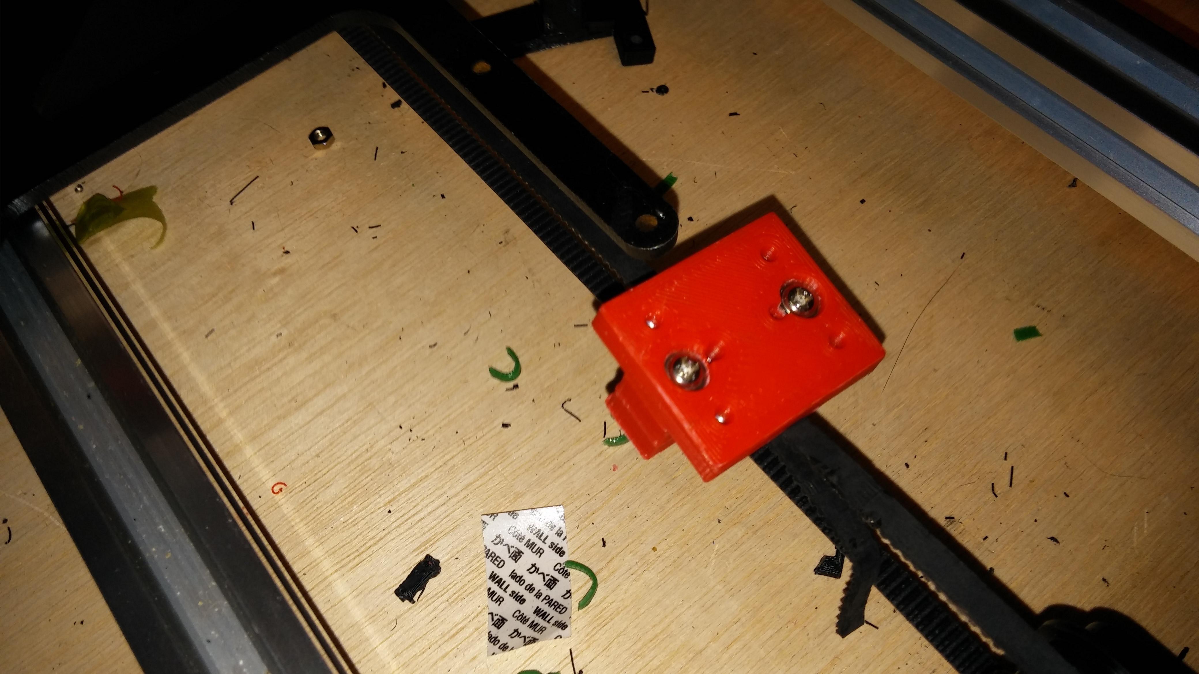 0317151020a.jpg Download free STL file NCS P3-v Steel Y Axis belt Mount GT2 Belt • 3D printer template, trentjw