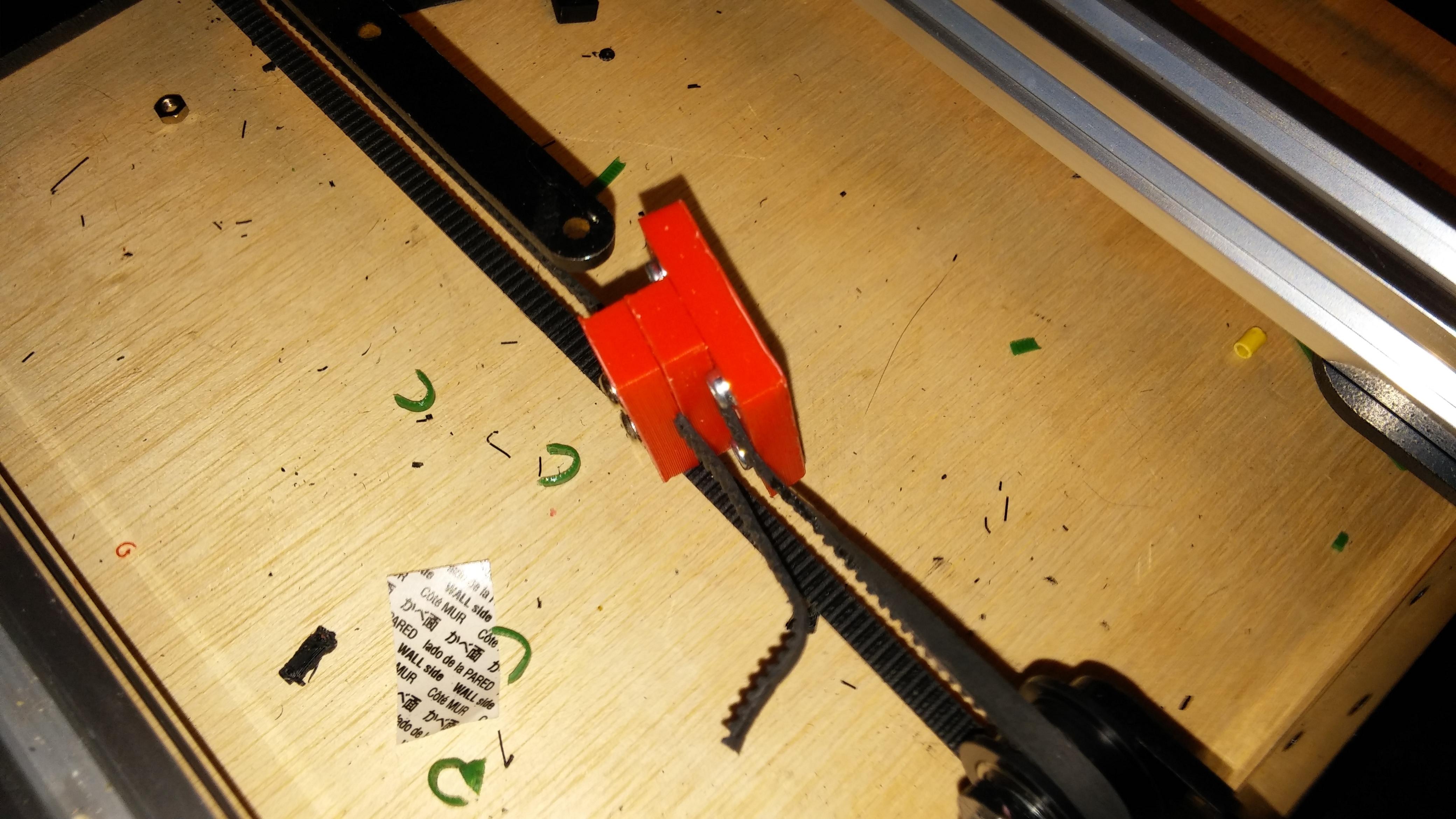 0317151020.jpg Download free STL file NCS P3-v Steel Y Axis belt Mount GT2 Belt • 3D printer template, trentjw