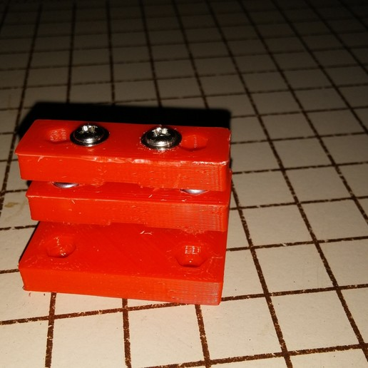 0317151008.jpg Download free STL file NCS P3-v Steel Y Axis belt Mount GT2 Belt • 3D printer template, trentjw