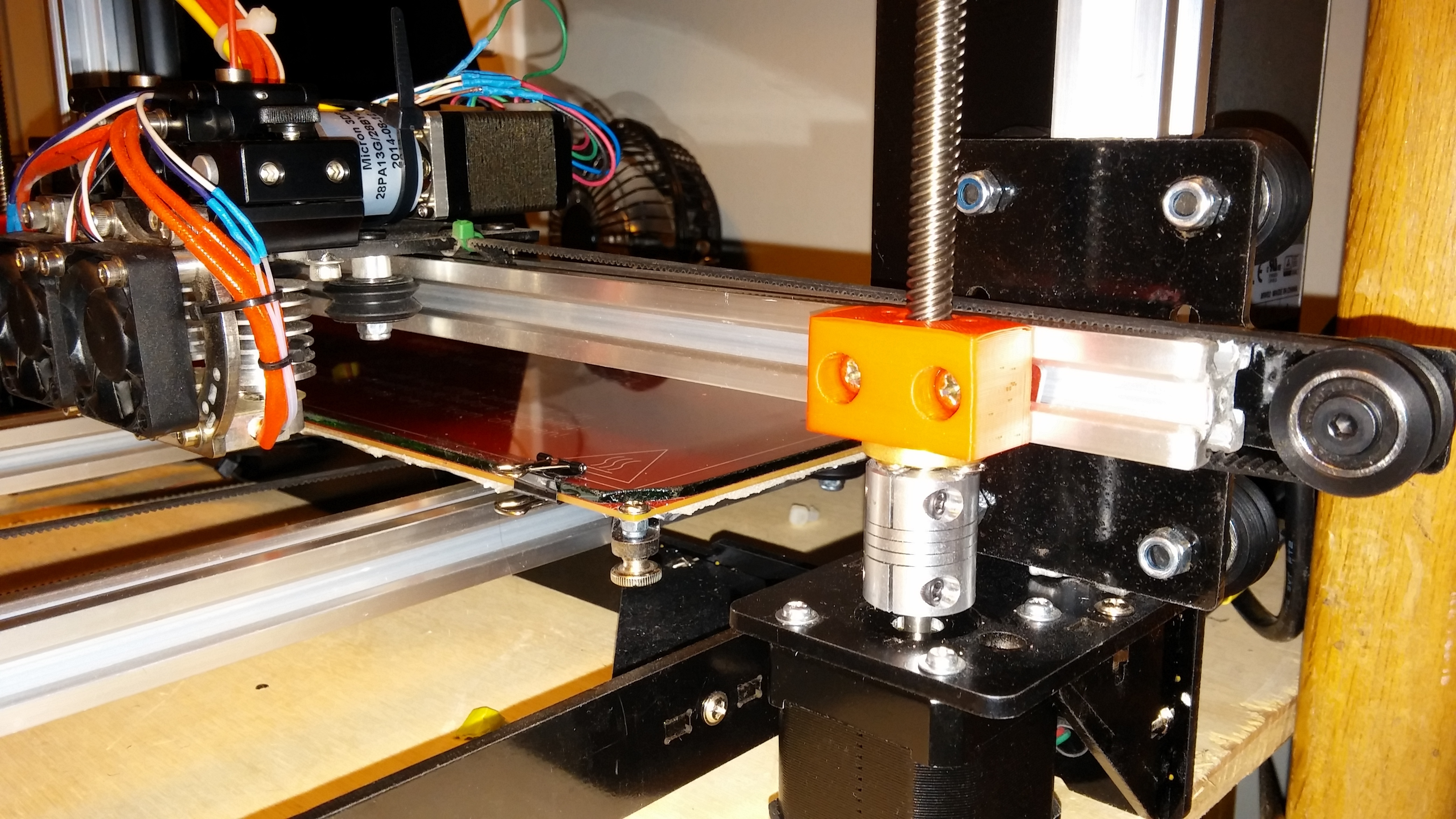 0309151646.jpg Download free STL file NCS P3-v Steel Brass Lead screw mount • 3D print object, trentjw