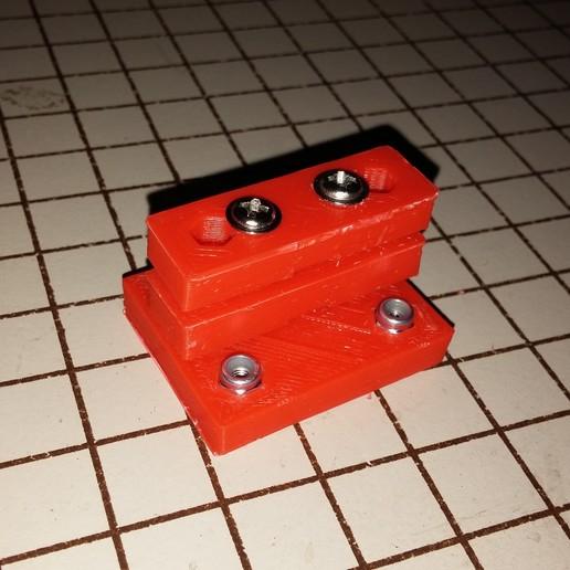 0317151010.jpg Download free STL file NCS P3-v Steel Y Axis belt Mount GT2 Belt • 3D printer template, trentjw
