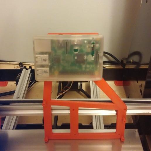 1012151921.jpg Download free STL file NCS P3-v Steel Raspberry Rumba mount for NCS P3-v Steel • 3D printing object, trentjw