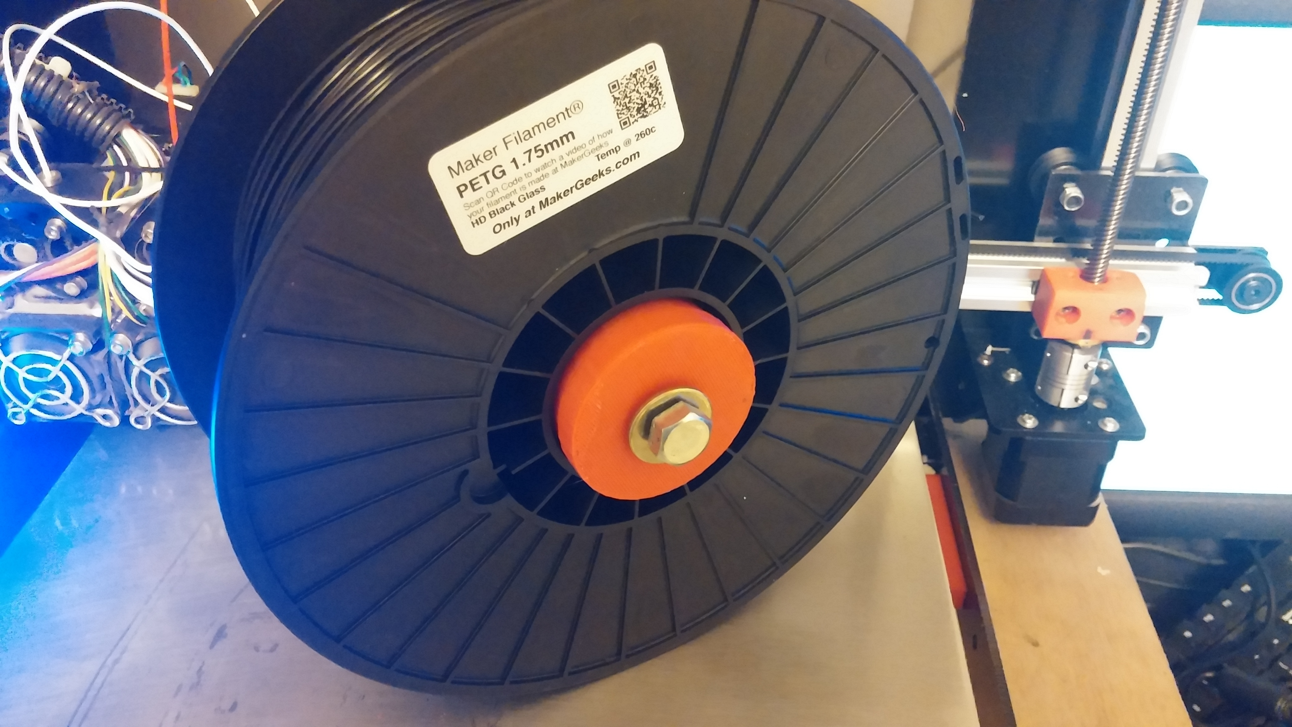 0701161415.jpg Download free STL file NCS P3-v Steel 51mm dia Spool Insert • Object to 3D print, trentjw