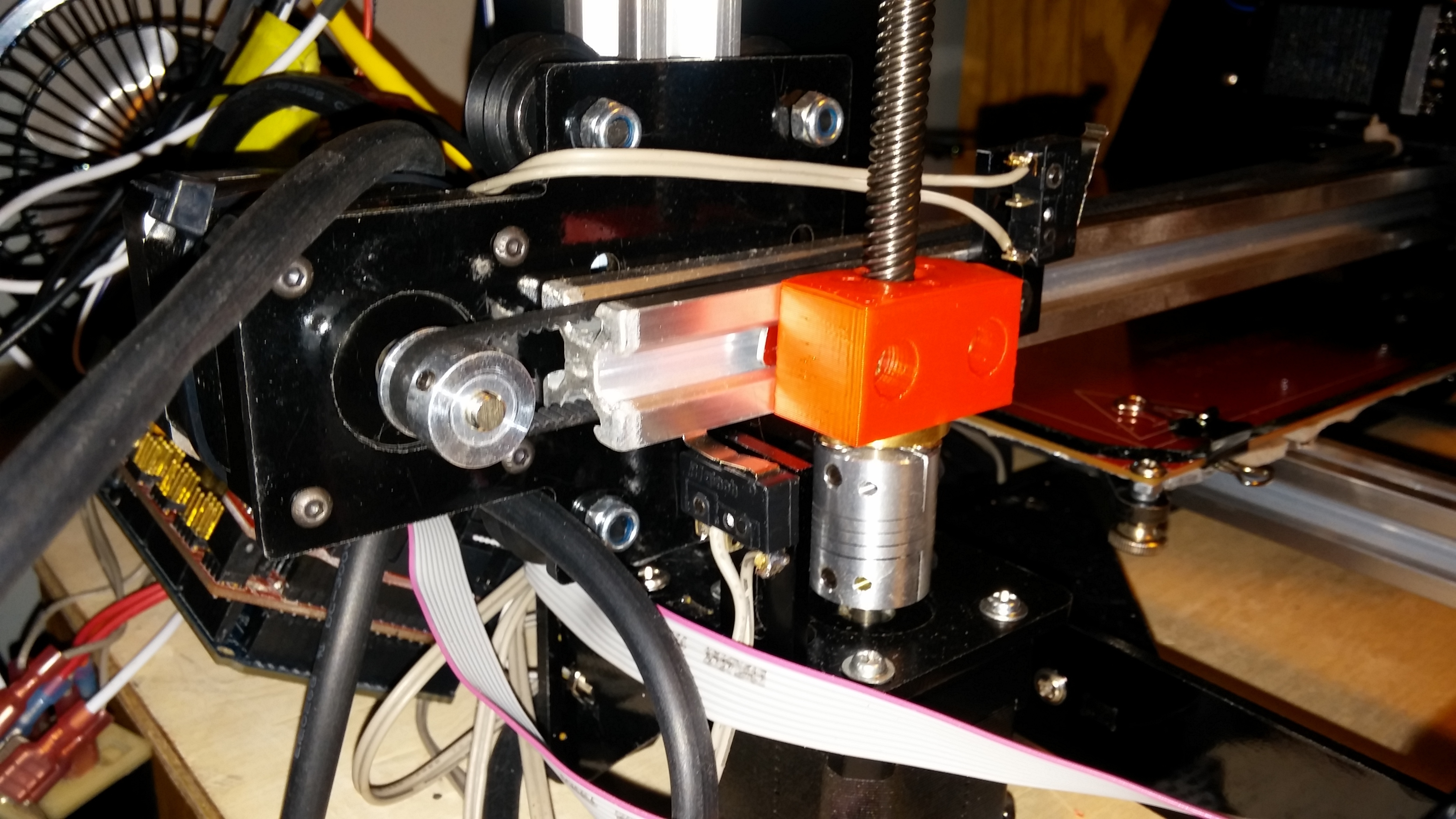 0309151646a.jpg Download free STL file NCS P3-v Steel Brass Lead screw mount • 3D print object, trentjw