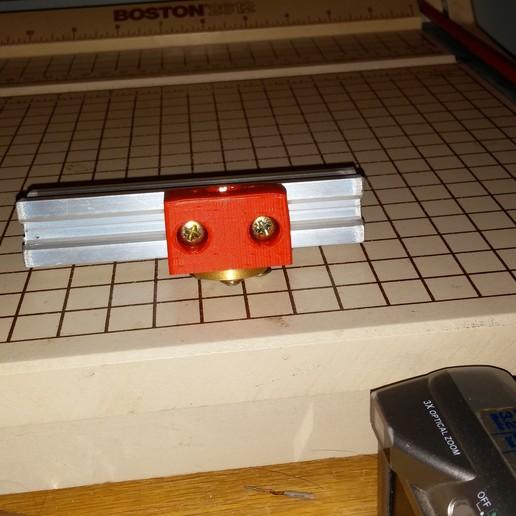0309151619a.jpg Download free STL file NCS P3-v Steel Brass Lead screw mount • 3D print object, trentjw