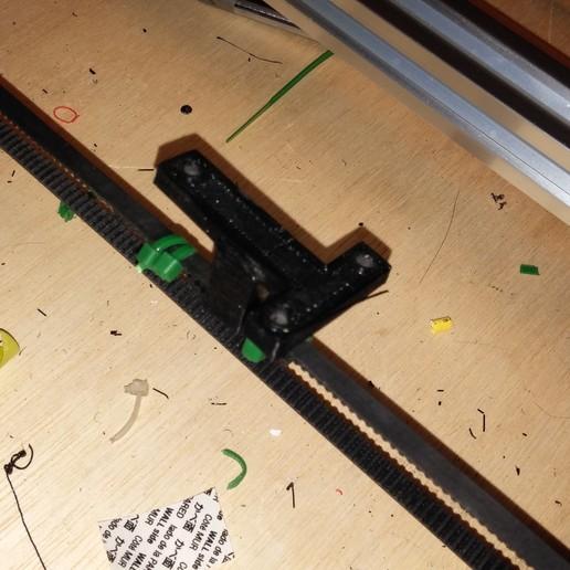 0317151012.jpg Download free STL file NCS P3-v Steel Y Axis belt Mount GT2 Belt • 3D printer template, trentjw