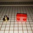Download free 3D printer designs NCS P3-v Steel Brass Lead screw mount, trentjw