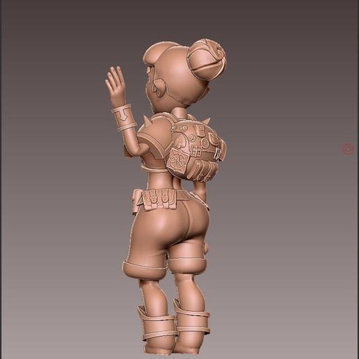 adv_hello2.jpg Download free OBJ file [FREE] Girl Adventurer • 3D printing template, warpentak