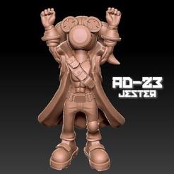 jester_yay2.jpg Download OBJ file AD23 Jester Yay • 3D printer design, warpentak