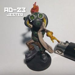 jester4.jpg Download OBJ file AD23 Jester Throw • 3D printer template, warpentak