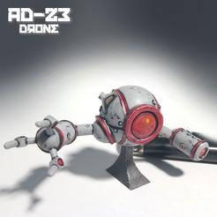 drone_pic1.jpg Download OBJ file AD23 Drone • 3D print template, warpentak