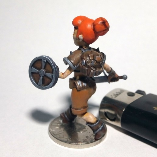 adv_walk1.jpg Download free OBJ file [FREE] Girl Adventurer • 3D printing template, warpentak