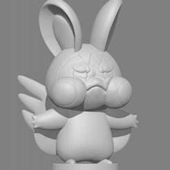 에몽가.PNG Download free STL file Emolga エモンガ (Pokémon)  • 3D printing object, dbaudwo753