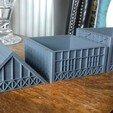20180818_120818.jpg Télécharger fichier STL gratuit Maison de Wargaming à deux étages, style Tudor • Modèle pour imprimante 3D, Wrecker
