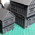 Download free STL file Tudor Style 2-Storey Wargaming House, Wrecker