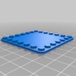Download free 3D printer files My Customized LEGO-CompatLegbaseplateo 6x1, Wrecker